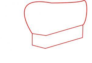 302x206 How To Draw A Wagon, Step