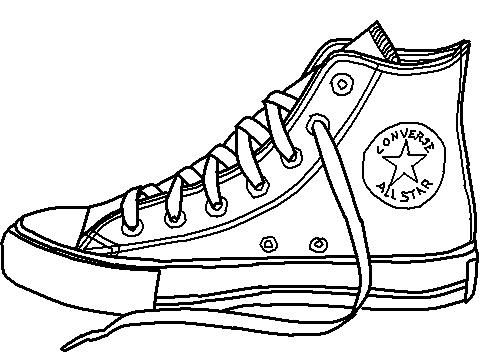 502x362 Huge Collection Of 'shoe Line Drawing' Download More Than