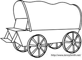 262x192 How To Draw A Covered Wagon Step