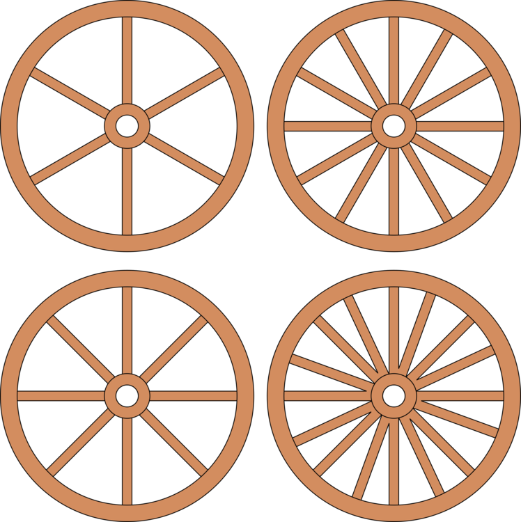 748x750 Drawing Wheels Covered Wagon Transparent Png Clipart Free