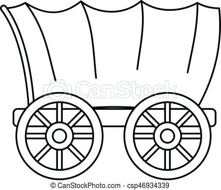 450x386 Pioneer Clipart Conestoga Wagon