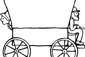 300x200 Pioneer Covered Wagon Clipart Inspirational Oregon Trail Wagon