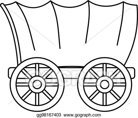 450x385 Wild West Clipart Covered Wagon Frames Illustrations Hd