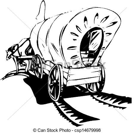 450x449 Wagon Train Clipart Wagon Train Drawing