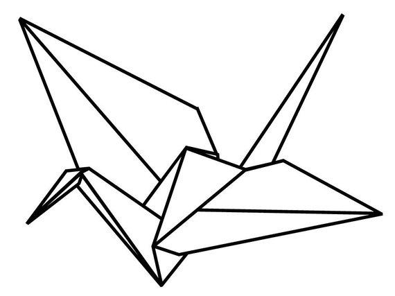 570x427 origami crane vinyl wall decals products origami