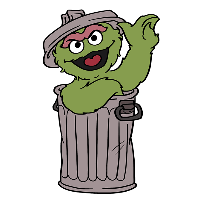 Oscar The Grouch Cartoon Pictures Pictandpicture Org