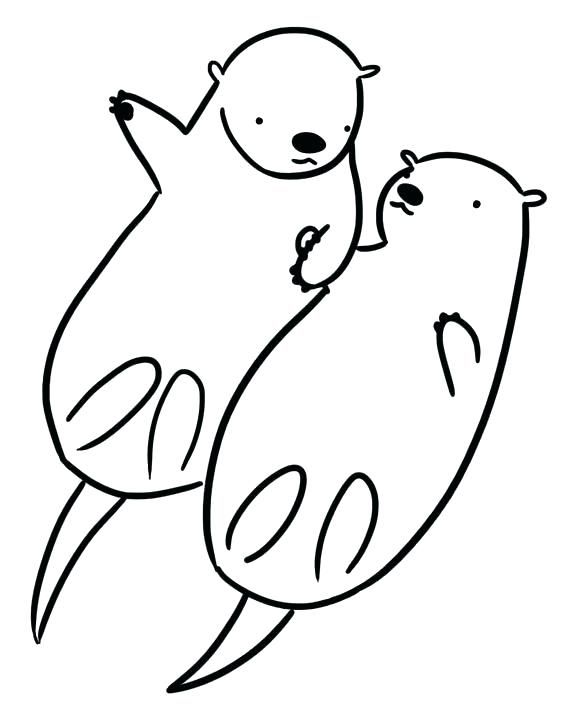 collection of otter clipart  free download best otter