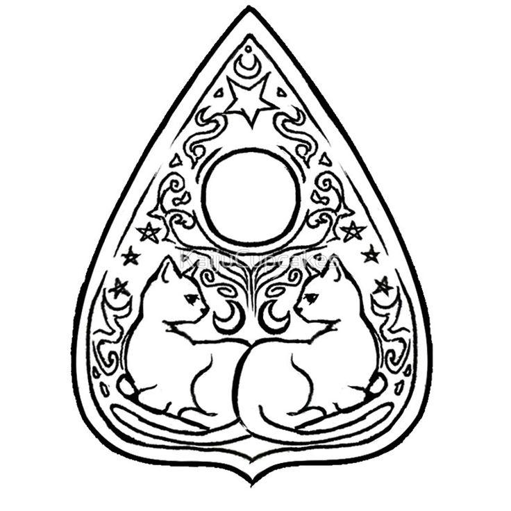 Ouija Board Drawing