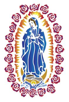 Our Lady Of Guadalupe Drawing