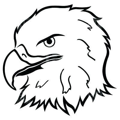 400x400 bald eagle outline bird of prey bald eagle outline drawing