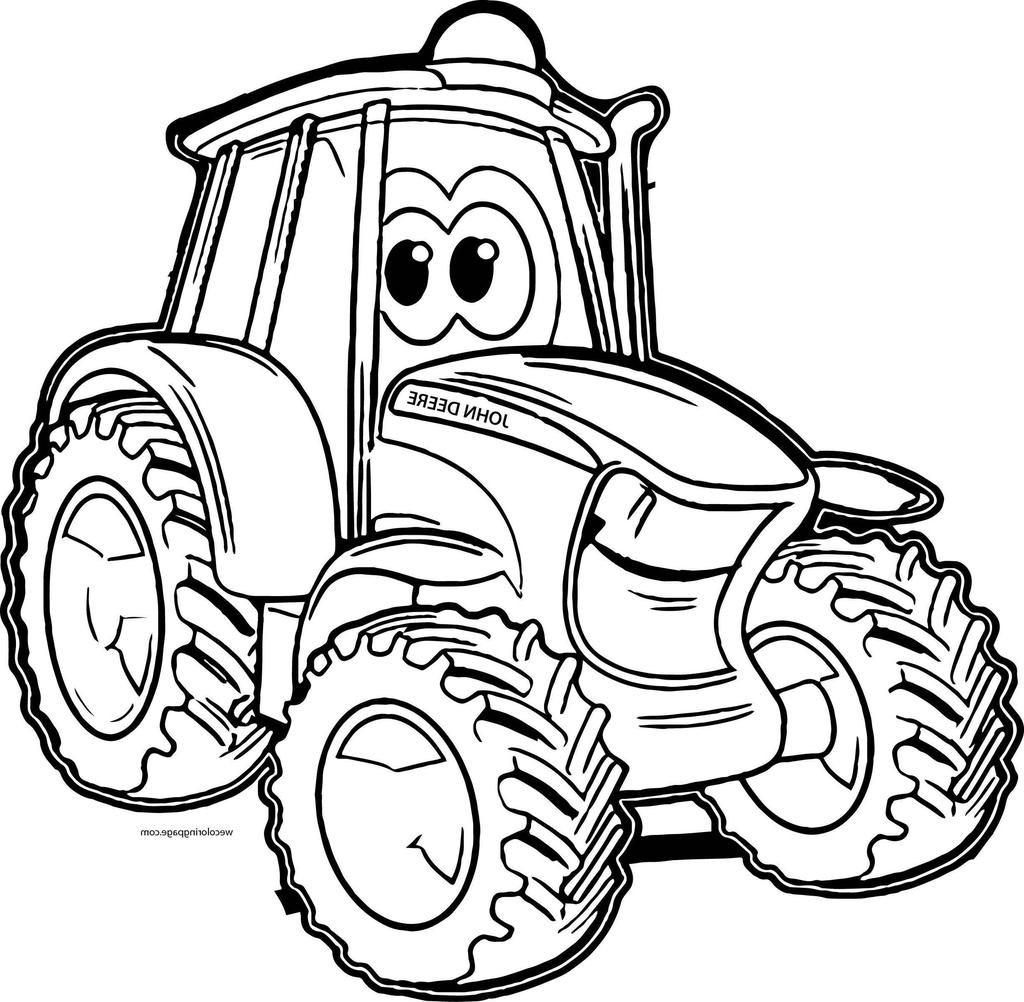 outline drawing of tractor  free download on clipartmag