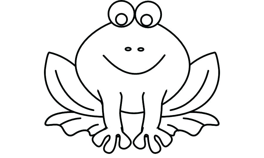 900x540 outline of a frog frog outlines tree frog outline drawing