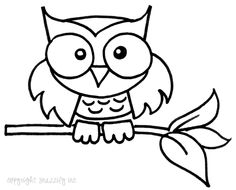 Owl Cartoon Drawing