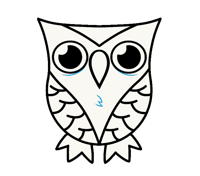 680x599 How To Draw A Cartoon Owl In A Few Easy Steps Easy Drawing Guides