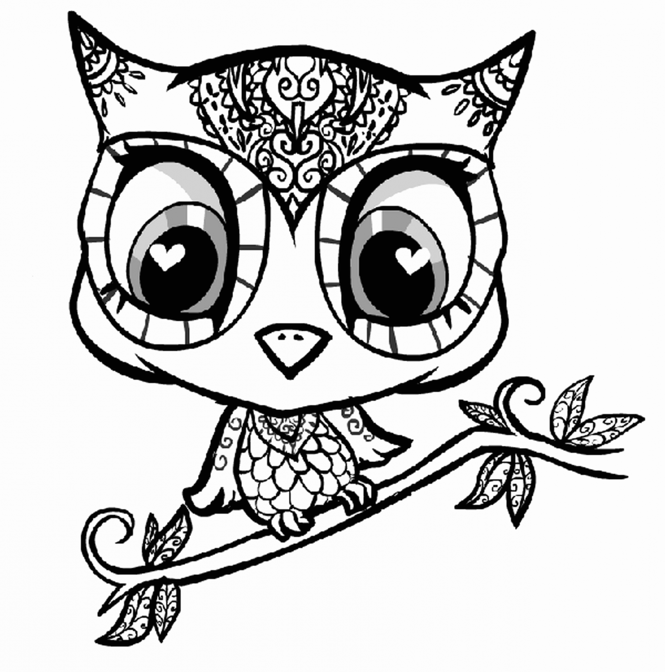 2168x2193 adult coloring pages owls owl design coloring pages adult