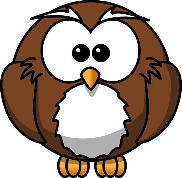 600x587 Cartoon Owl Clip Art Free Vector In Open Office Drawing