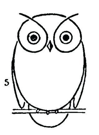 318x433 Easy Draw Owl How To Draw Owls Easy To Draw Owlette