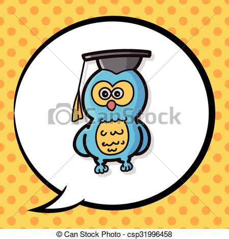 450x470 Owl Color Doodle