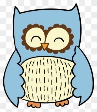 320x370 Rainbow Clipart Owl