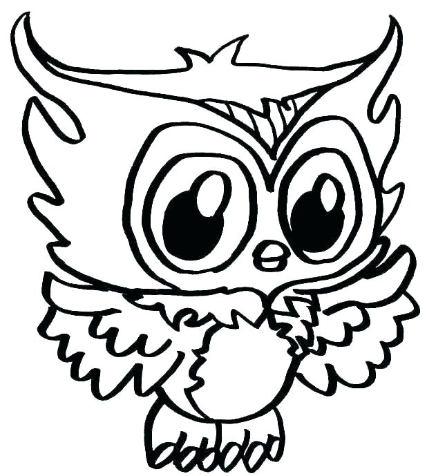 618x689 Coloring Pages Of Cute Owls Owl Printable C Klubfogyas