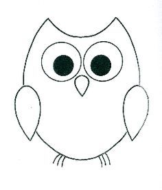 Owl Drawing Easy | Free download on ClipArtMag