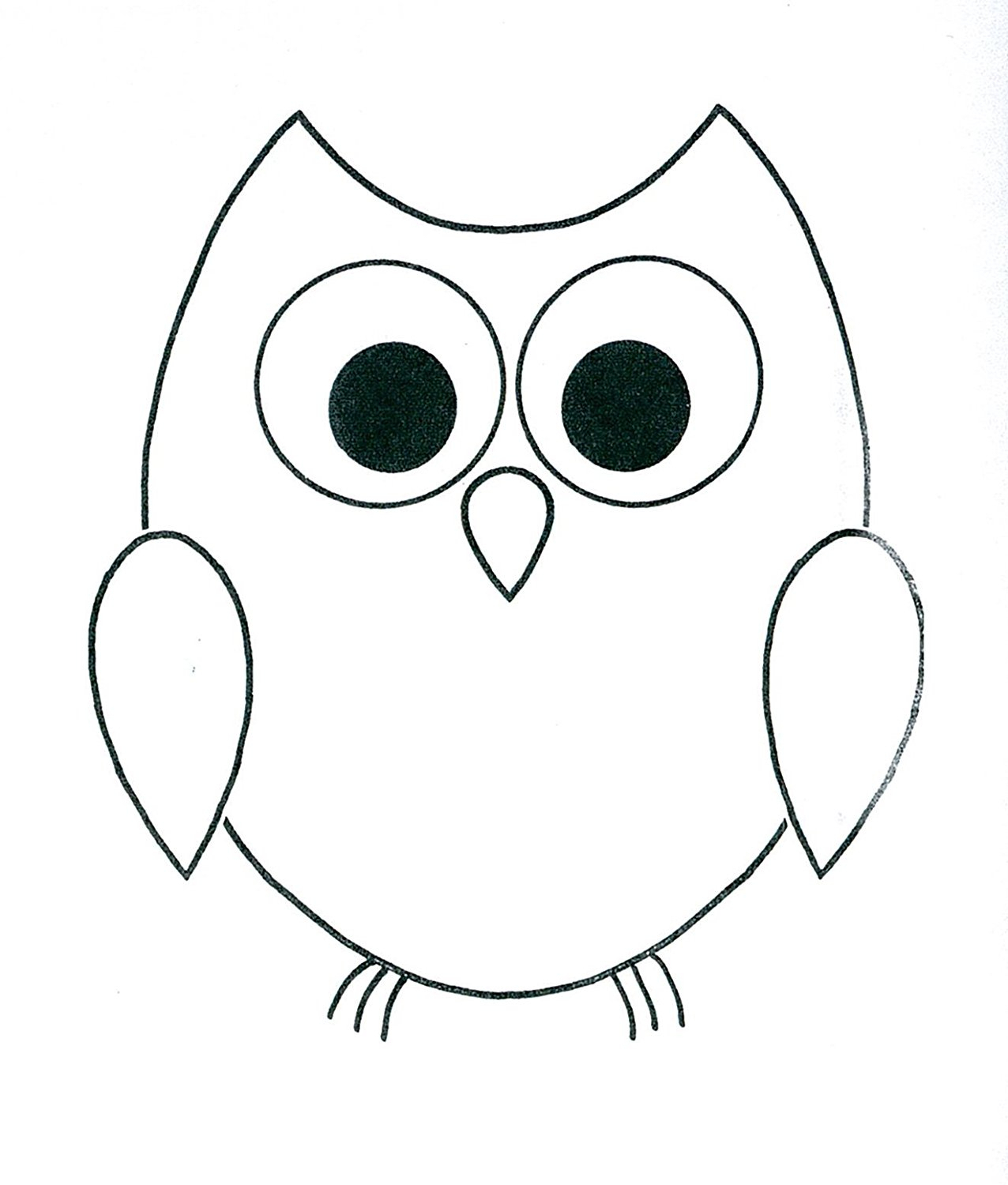 1276x1500 owl drawing for kids and basic owl drawing basic owl drawing