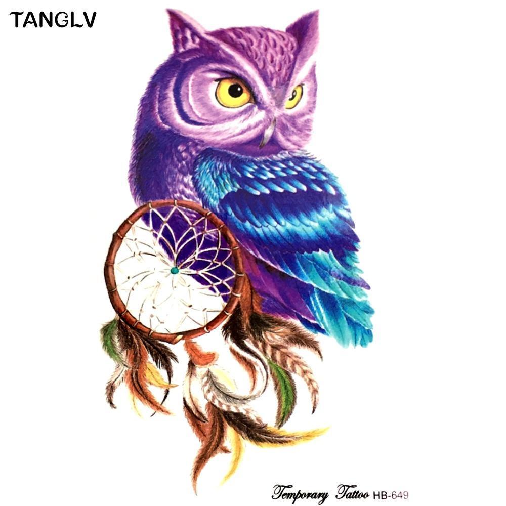 Owl Dream Catcher Drawing