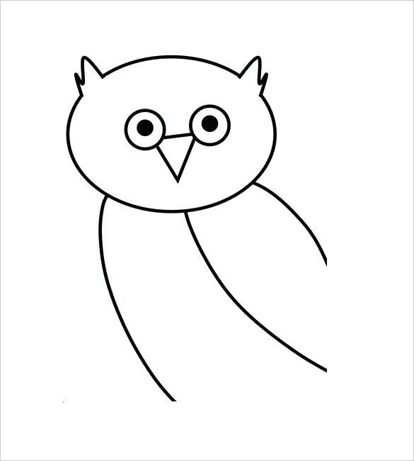Owl Flying Drawing | Free download on ClipArtMag