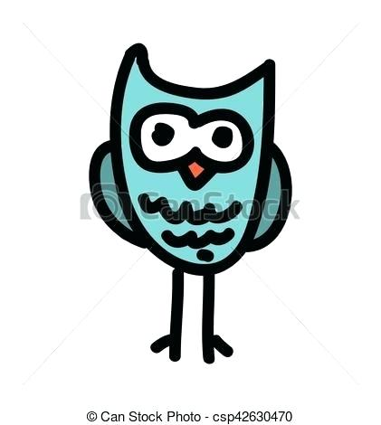 Owl On Tree Branch Drawing | Free download on ClipArtMag
