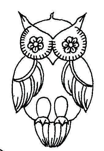 340x493 Owl Outline Drawing Outline Drawing Of Owl At Free For Personal