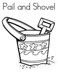 236x305 pail and bucket coloring pages awesome fresh sand bucket