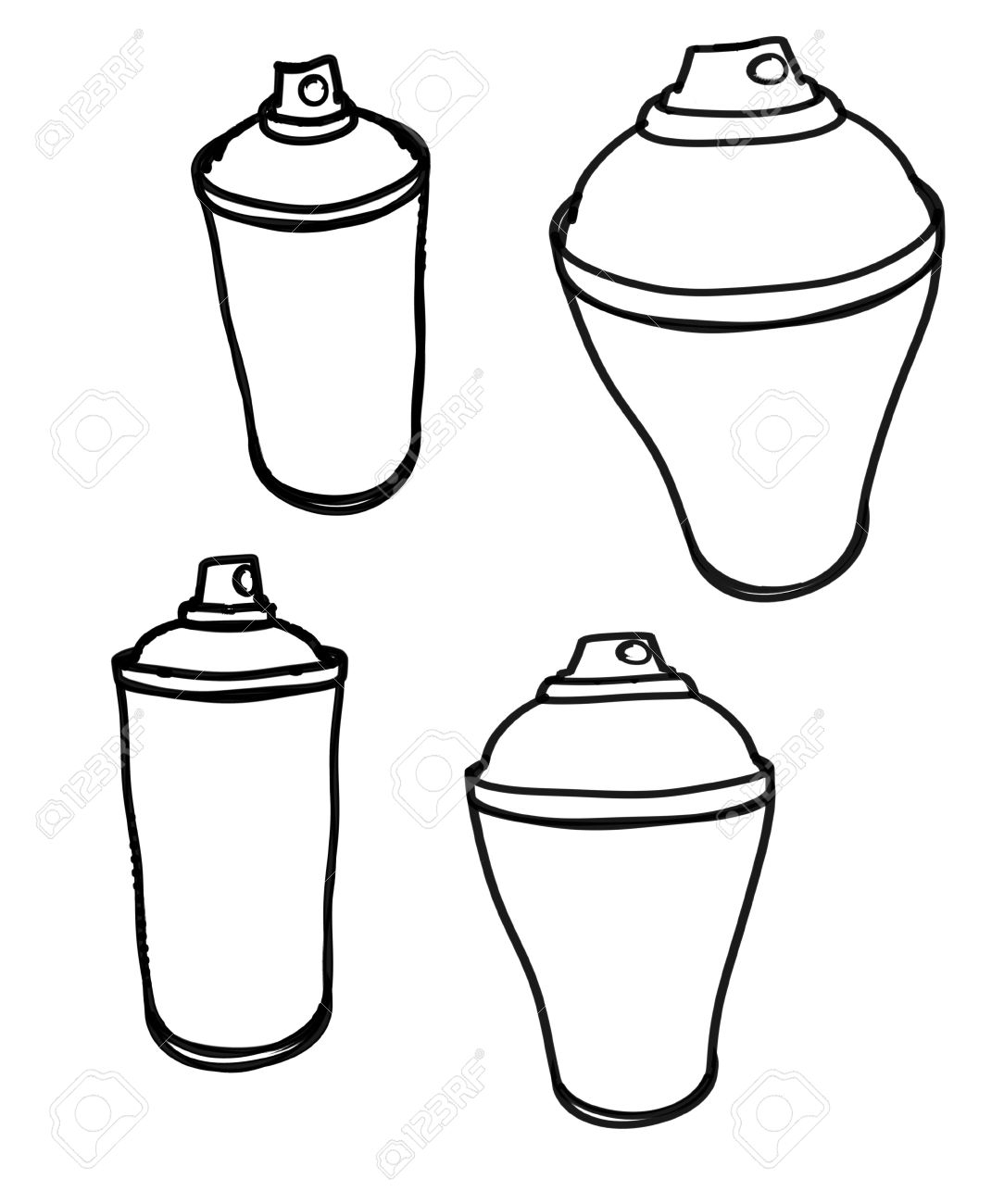 1084x1300 graffiti spray paint can drawing rough marker sketches of spray