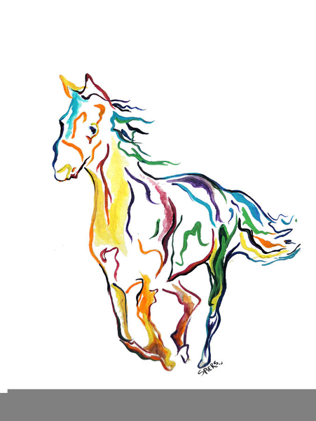 451x600 Free Paint Horse Clipart Free Images