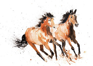 300x212 Paint Horse Paintings