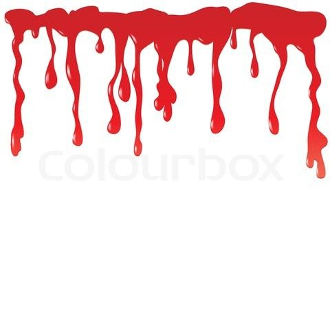 Blood splatter animated. Paint drawing free download