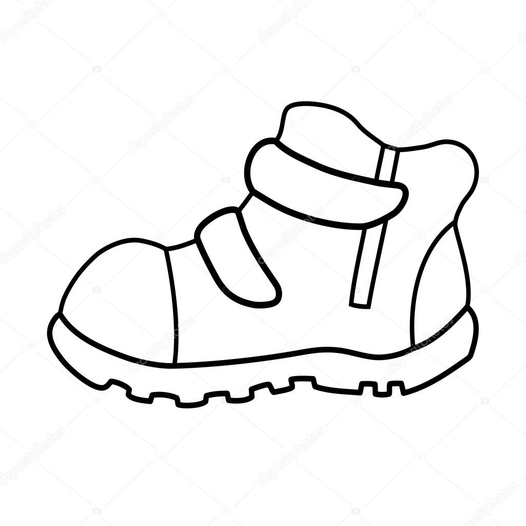 Pair Of Shoes Drawing