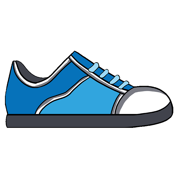 680x678 How To Draw A Shoe