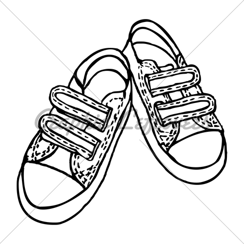 500x500 Shoes Gl Stock Images