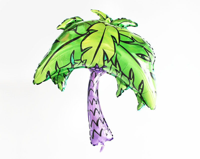 800x635 palm tree balloon large foil mylar jumbo etsy