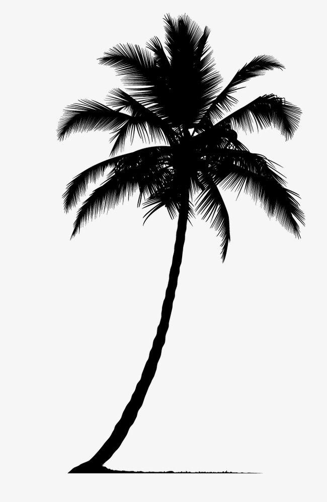 650x998 palm tree silhouette, tree clipart, palm tree, plant silhouette