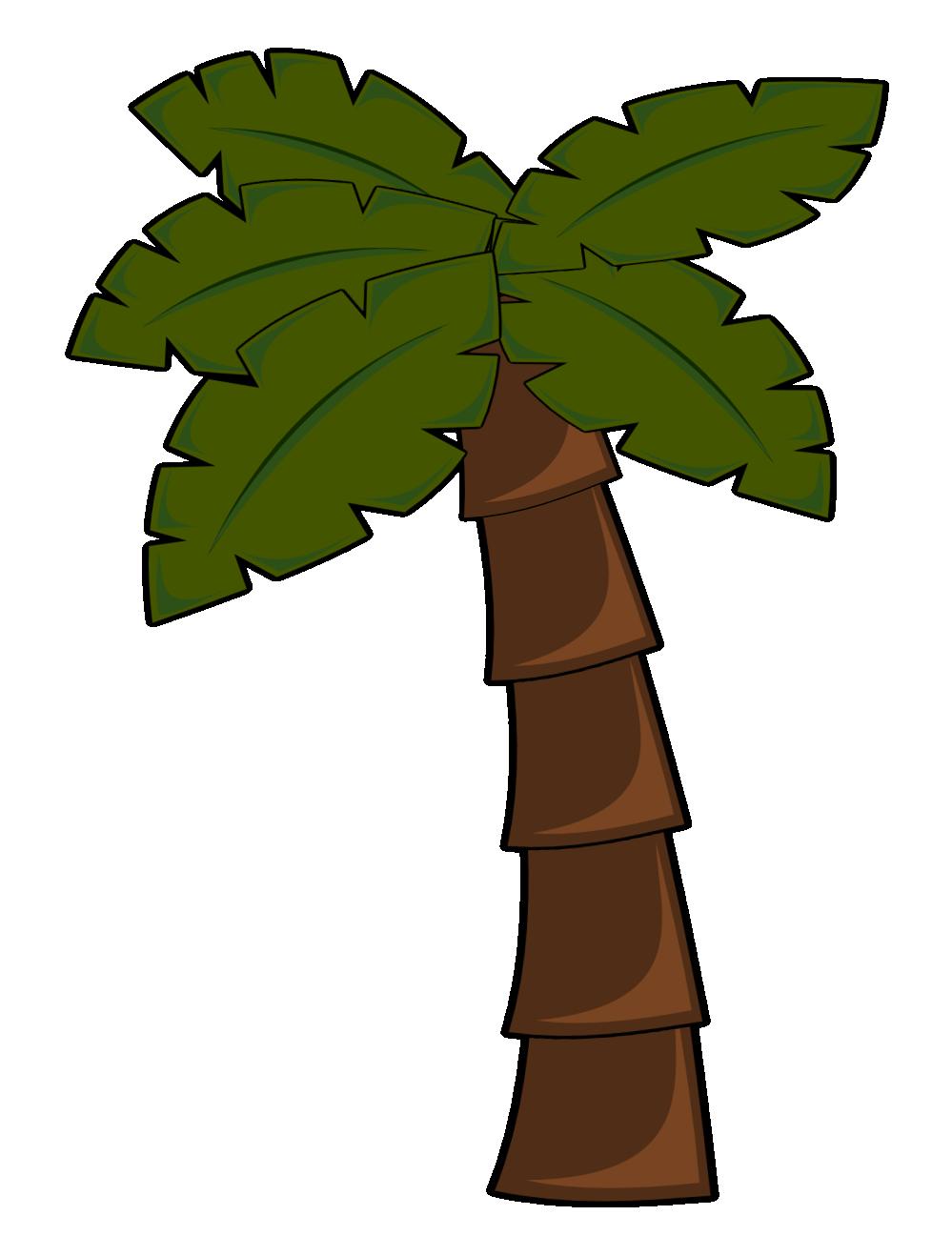 Palm Tree Sunset Drawing