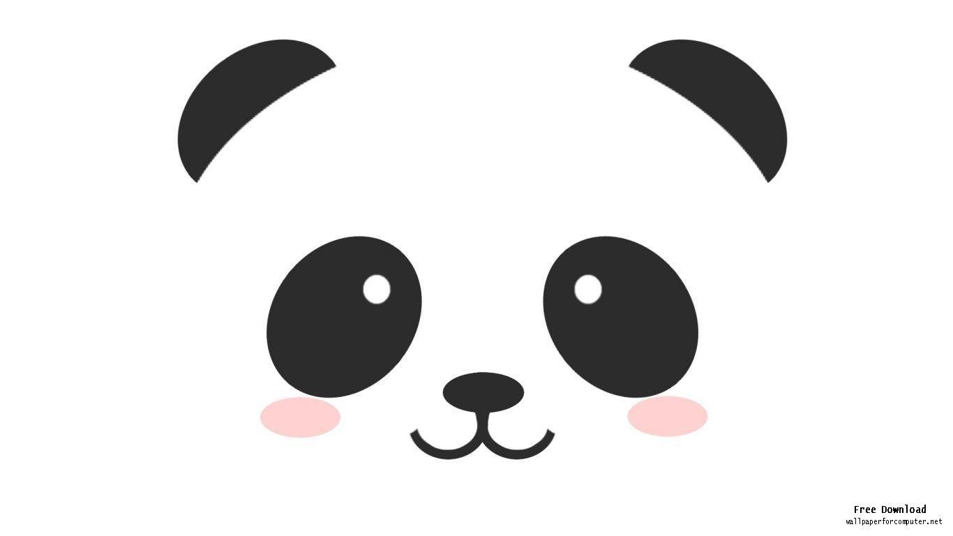 1366x768 cute anime panda jaycee cute panda wallpaper, panda drawing