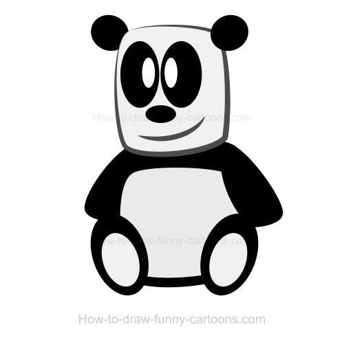 500x492 Drawing A Panda