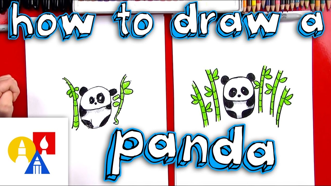 1280x720 How To Draw A Cartoon Panda