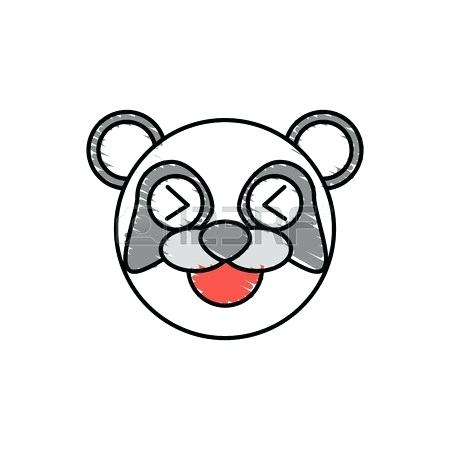 450x450 Cute Cartoon Panda Drawings