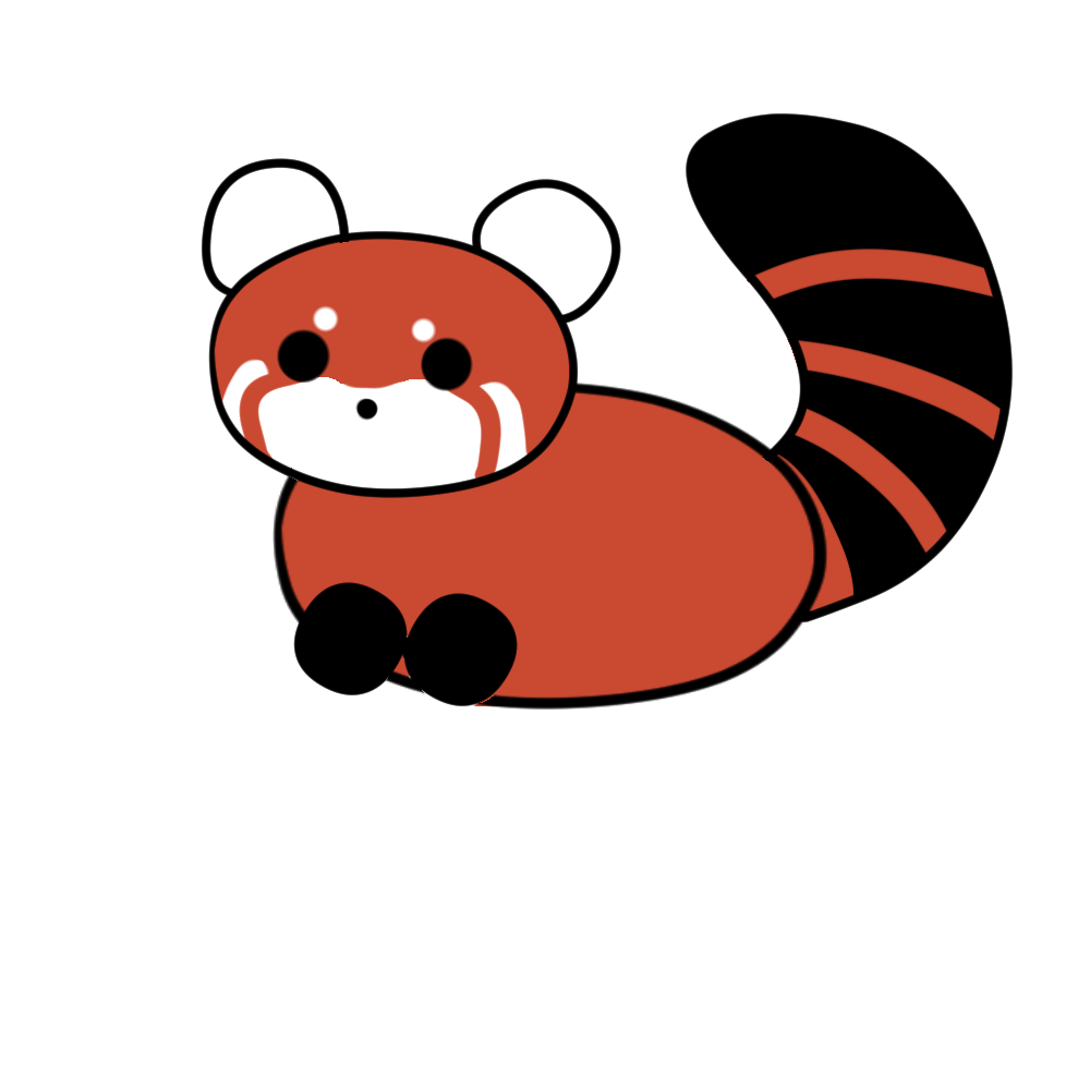 1000x1000 How To Draw A Red Panda Steps
