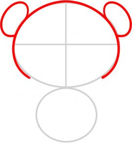 270x302 How To Draw How To Draw A Panda For Kids