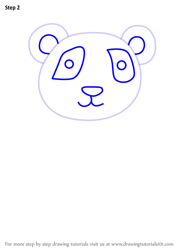 602x848 Learn How To Draw A Panda For Kids
