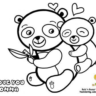 336x336 Mom And Baby Panda Drawing Step