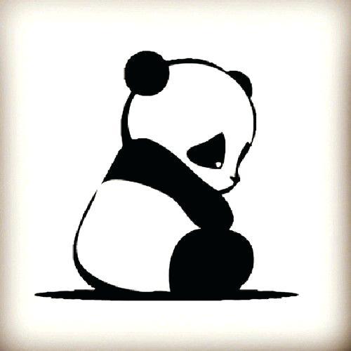 500x500 Easy Panda Drawings He Loved His Panda Easy Panda Drawings Step
